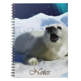 Aurora, Ice Floe & Harpseal Wildlife Notebook