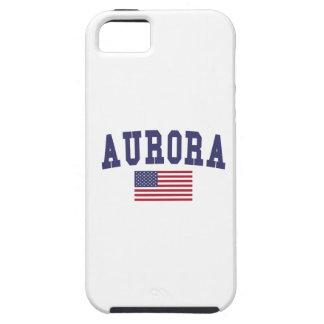 Aurora IL US Flag iPhone SE/5/5s Case