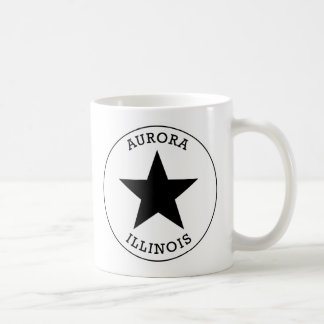 Aurora Illinois Coffee Mug