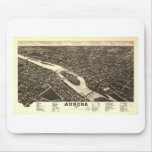 Aurora, Illinois in 1882 Mouse Pad