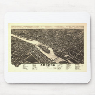 Aurora, Illinois in 1882 Mouse Pad