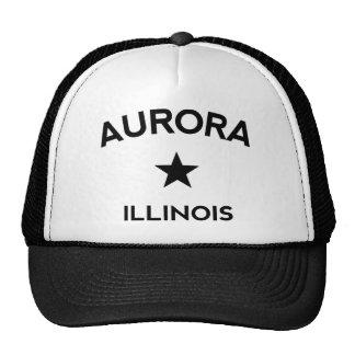 Aurora Illinois Trucker Cap Trucker Hat