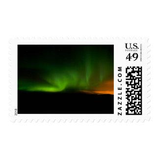 Aurora in Reykjanes Peninsula #2 Stamps