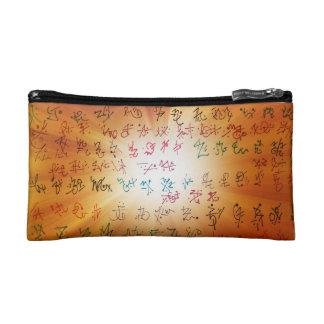 Aurora Lifted Hieroglyphs Makeup Bag