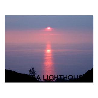 AURORA LIGHTHOUSE POSTCARD