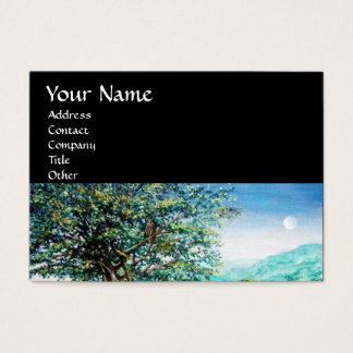 AURORA / MAGIC TREE, green, blue ,black Business Card