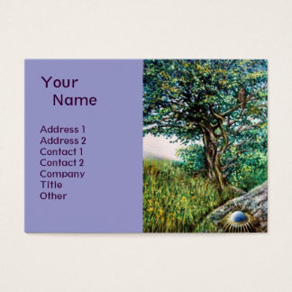 AURORA / MAGIC TREE, green, blue Business Card