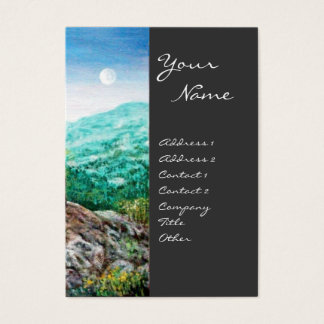 AURORA / MAGIC TREE, green, blue,grey Business Card