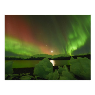 Aurora mágica postal