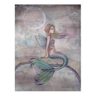 Aurora Mermaid Postcard
