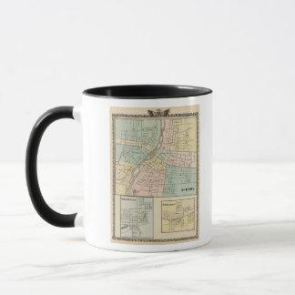 Aurora, Naperville and Wheaton Mug