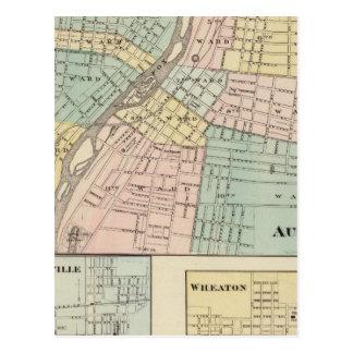 Aurora, Naperville and Wheaton Postcards