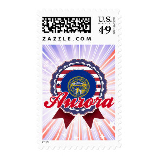 Aurora, NE Postage Stamp