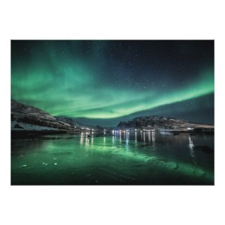 Aurora Night Poster