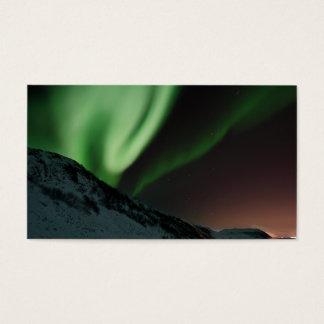 Aurora Northern Lights Norway Business Card