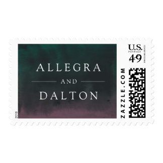 Aurora | Northern Lights Wedding Postage