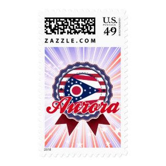 Aurora, OH Stamp