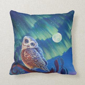 Aurora Owl and Starry Owl. Pillows