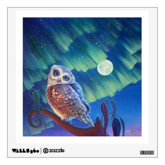 Aurora Owl. Wall Decal