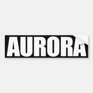 Aurora Pegatina Para Auto