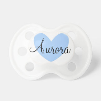 """Aurora"" Personalized Name Pacifier"