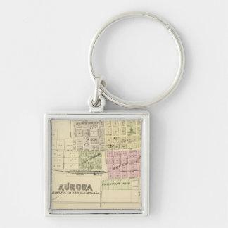 Aurora, Phillips, un Hampton, Nebraska Llaveros Personalizados