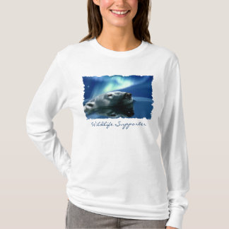 Aurora & Polar Bear Wildlife Supporter Shirt