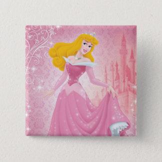 Aurora Princess Pinback Button