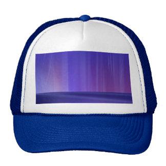 Aurora púrpura gorras