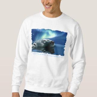 AURORA QUE SOÑA la camisa Largo-Envuelta del oso