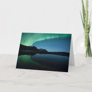 Aurora Reflection Card
