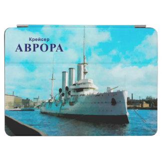Aurora rusa del crucero cubierta de iPad air