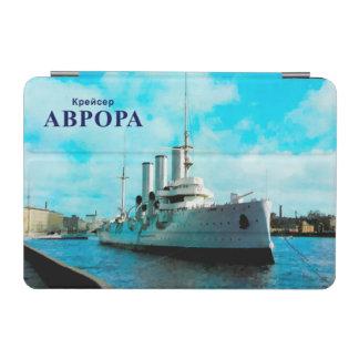 Aurora rusa del crucero cubierta de iPad mini