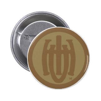 Aurora Series (1914) Badge (ONU Squared) Pinback Button