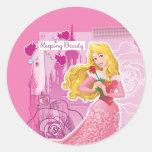 Aurora - Sleeping Beauty Classic Round Sticker