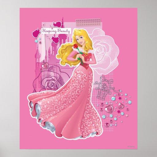Aurora - Sleeping Beauty Poster | Zazzle