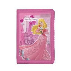 Aurora - Sleeping Beauty Trifold Wallets at Zazzle