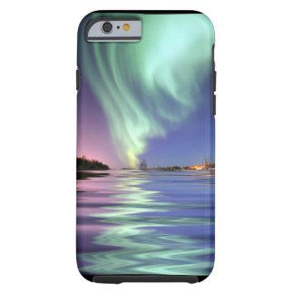 Aurora sobre Alaska Funda De iPhone 6 Tough