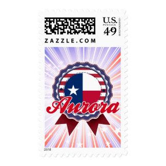Aurora, TX Postage Stamps