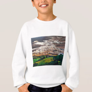 Aurora Valley Painting Sweatshirt
