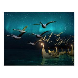 Aurora Voyage Postcard