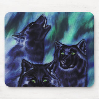 Aurora Wolves Supernatural Mouse Pad