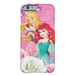 Aurora y Ariel de la princesa el | de Disney Funda Para iPhone 6 Barely There