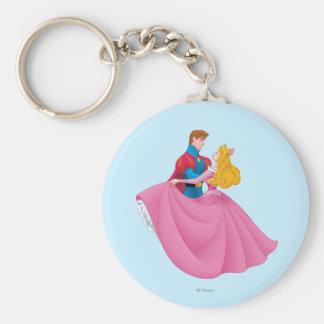 Aurora y príncipe Phillip Dancing Llavero Personalizado
