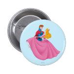 Aurora y príncipe Phillip Dancing Pins