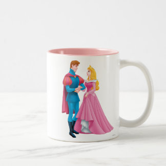 Aurora y príncipe Phillip Tazas De Café