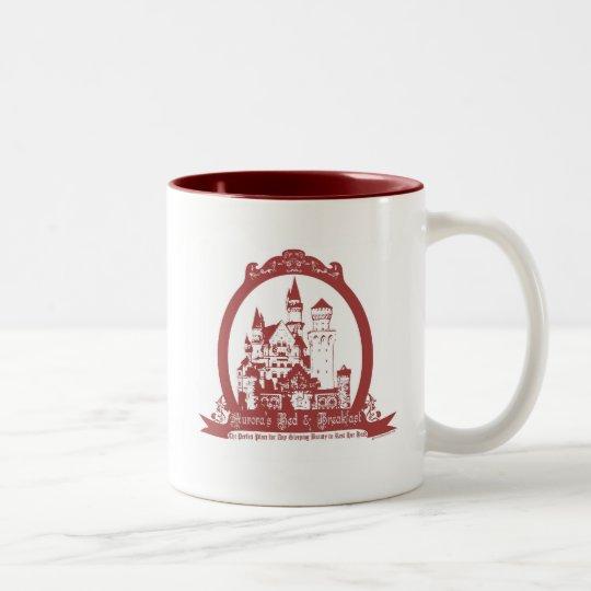 Aurora's Bed & Breakfast Two-Tone Coffee Mug