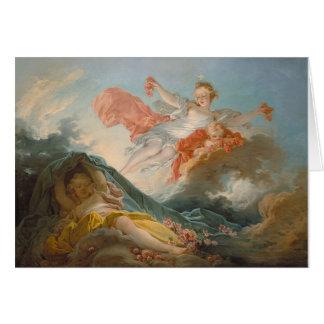 Aurore by Jean-Honore Fragonard Card