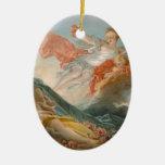 Aurore by Jean-Honore Fragonard Ceramic Ornament
