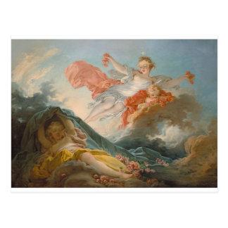 Aurore by Jean-Honore Fragonard Postcard